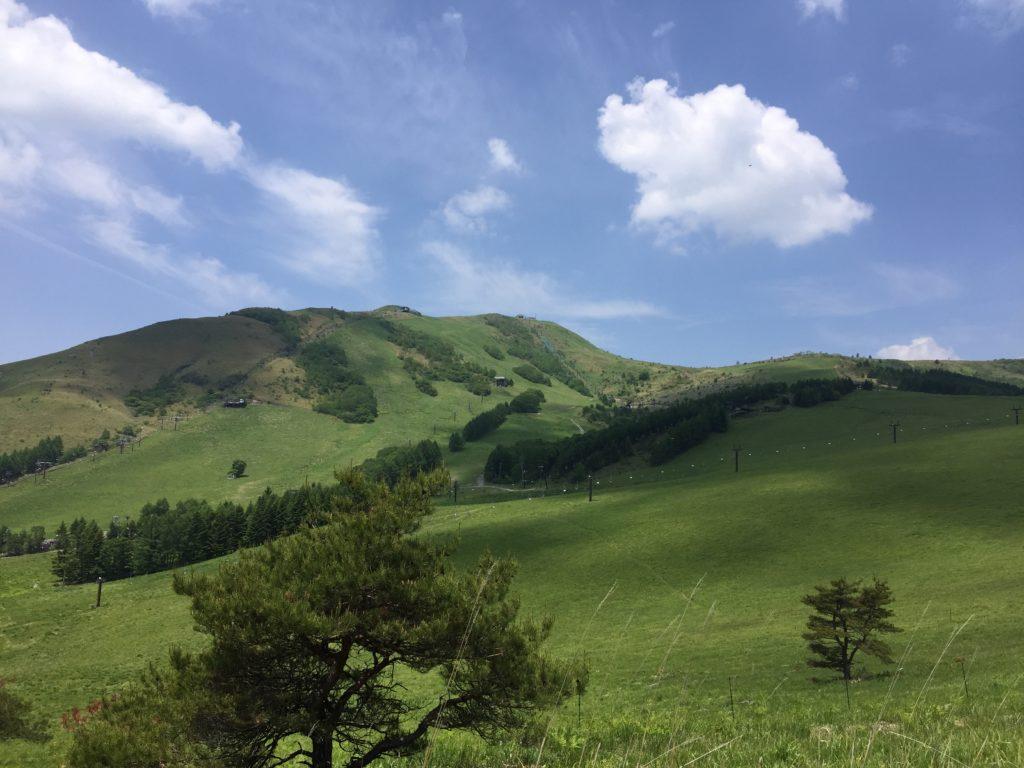 霧ケ峰高原 日本百名山「車山」